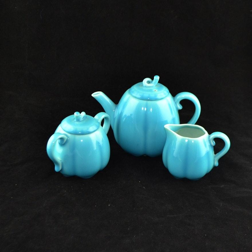 1930 Rookwood Pottery Three-Piece Tea Set
