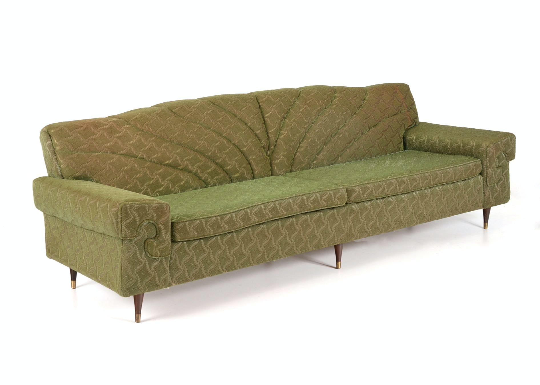 Sawyers Furniture Green Sofa