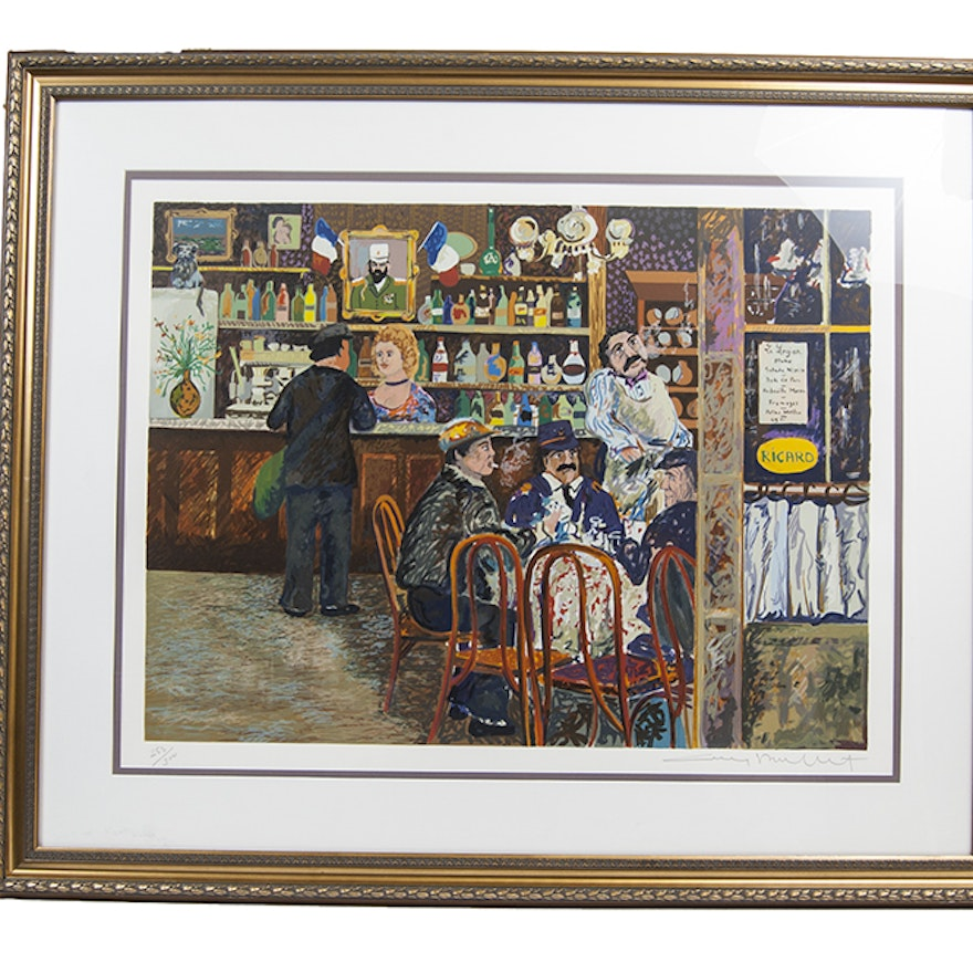 Cool Guy Buffet La Legion Signed Lithograph Download Free Architecture Designs Scobabritishbridgeorg