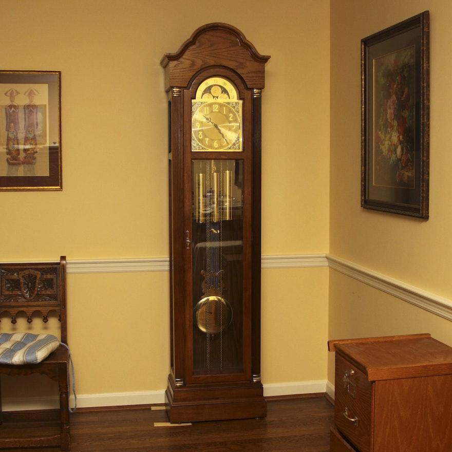 Vintage Ridgeway Grandfather Clock