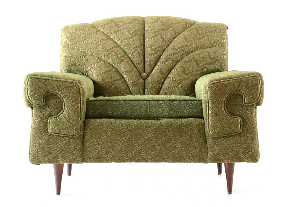 Delicieux Sawyers Furniture Green Armchair ...