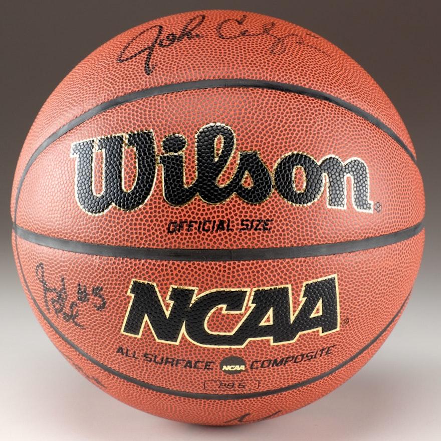 2011-12 University of Kentucky's Men's Signed Basketball
