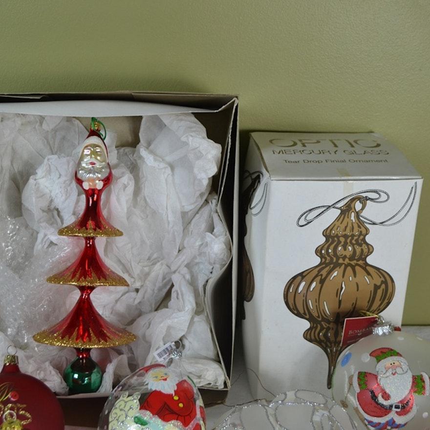 Christopher Radko & Radko Style Ornaments & Topper