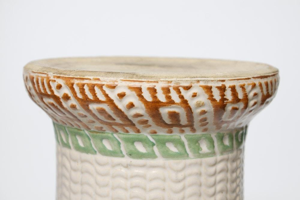 Roseville Auto Sales >> Robinson Ransbottom Pottery Desert Jardiniére and Pedestal ...