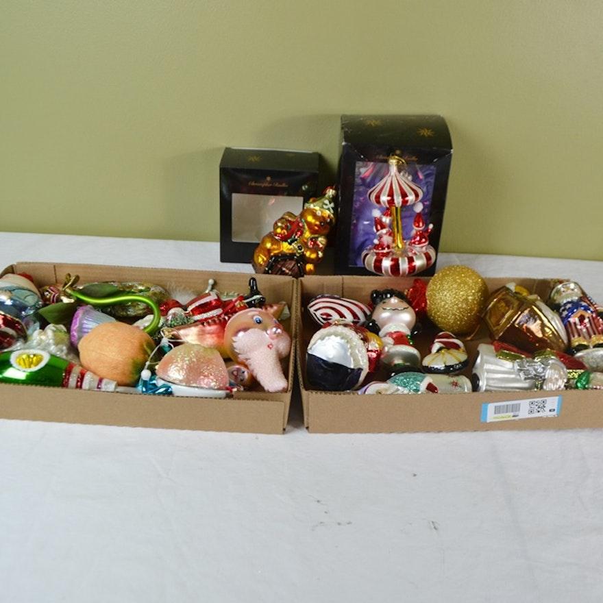 Christopher Radko Art Glass Ornaments