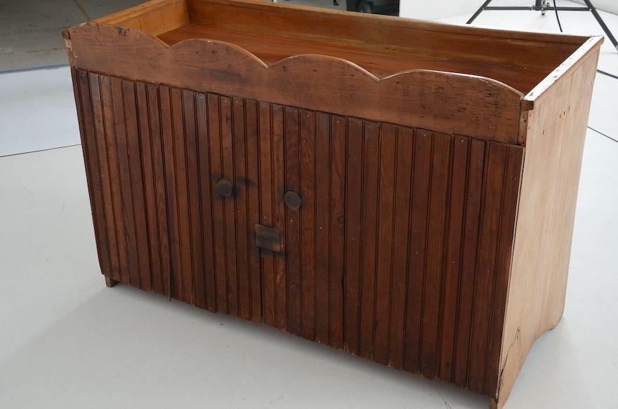 1860s Dry Sink Ebth