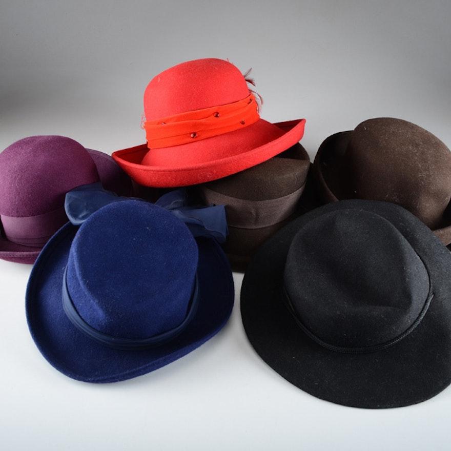 0cdf31ae24c Group of Women s Hats   EBTH