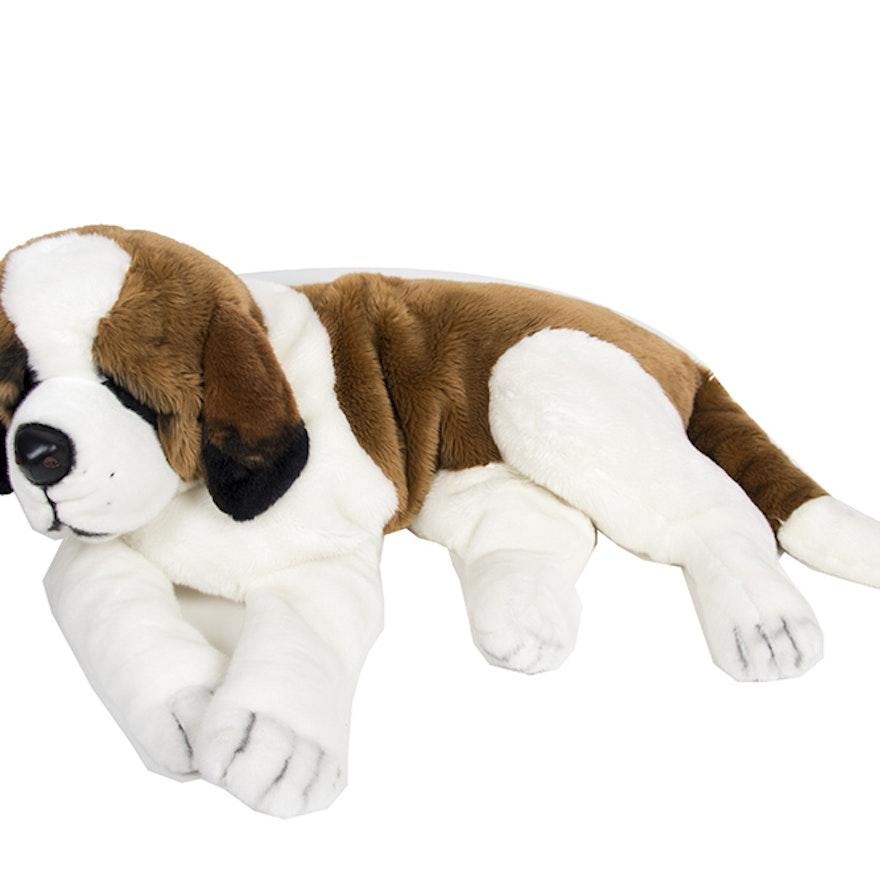 Saint Bernard Stuffed Animal Ebth