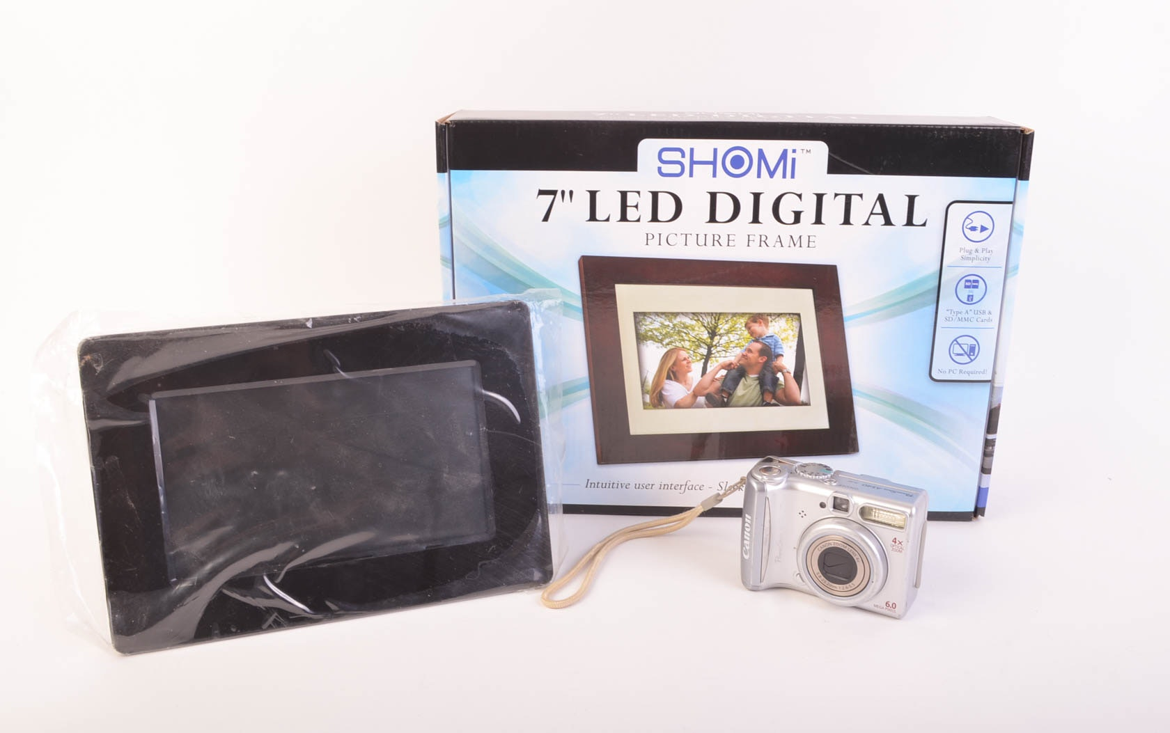 Led Digital Picture Frames And Camera Ebth