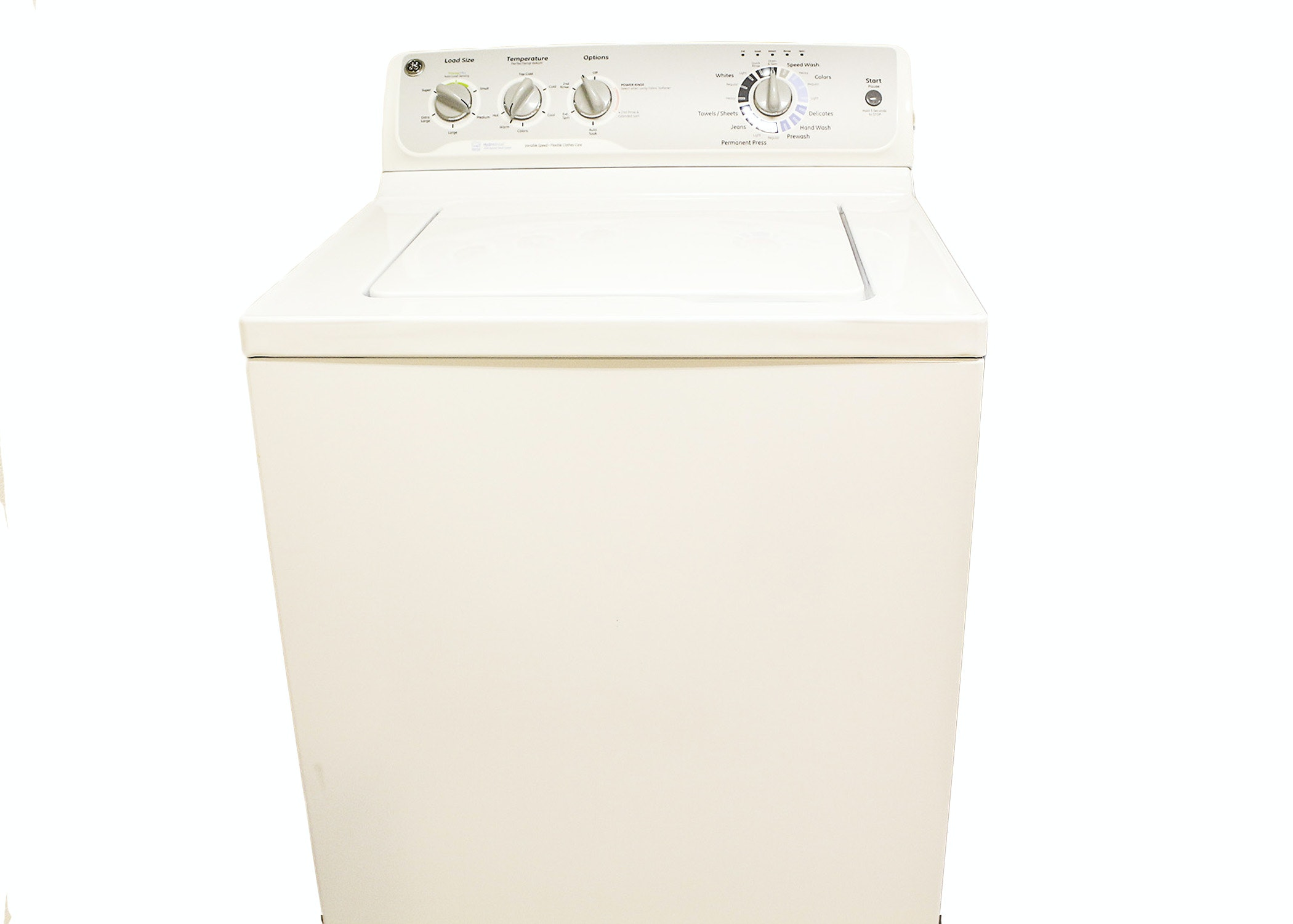 ge hydro heater washing machine manual