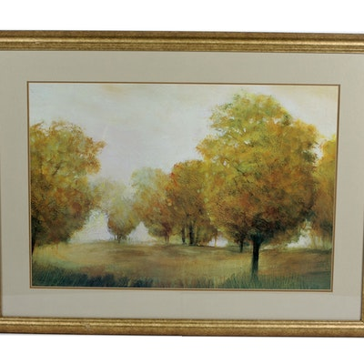 Online art auctions fine art auctions estate art sale in framed quiet moment offset lithograph solutioingenieria Choice Image