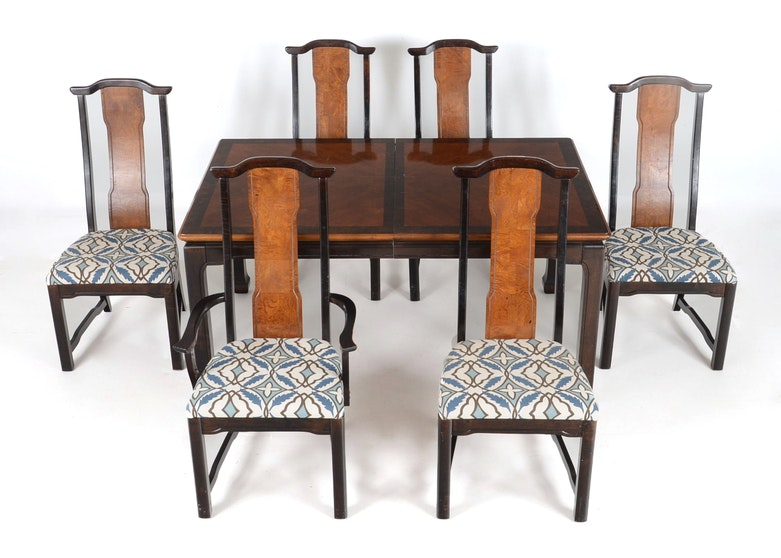 Broyhill quotMing Dynastyquot Dining Table and Six Chairs EBTH : DSC6490jpgixlibrb 11 from www.ebth.com size 880 x 906 jpeg 120kB