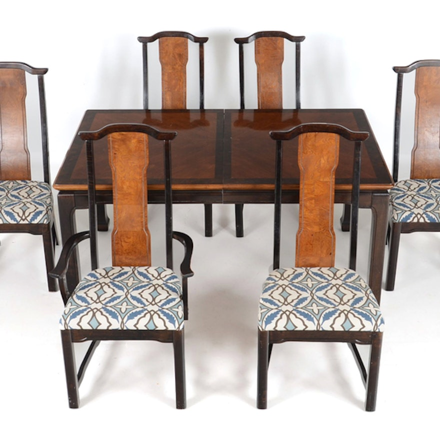 Broyhill Ming Dynasty Dining Table And