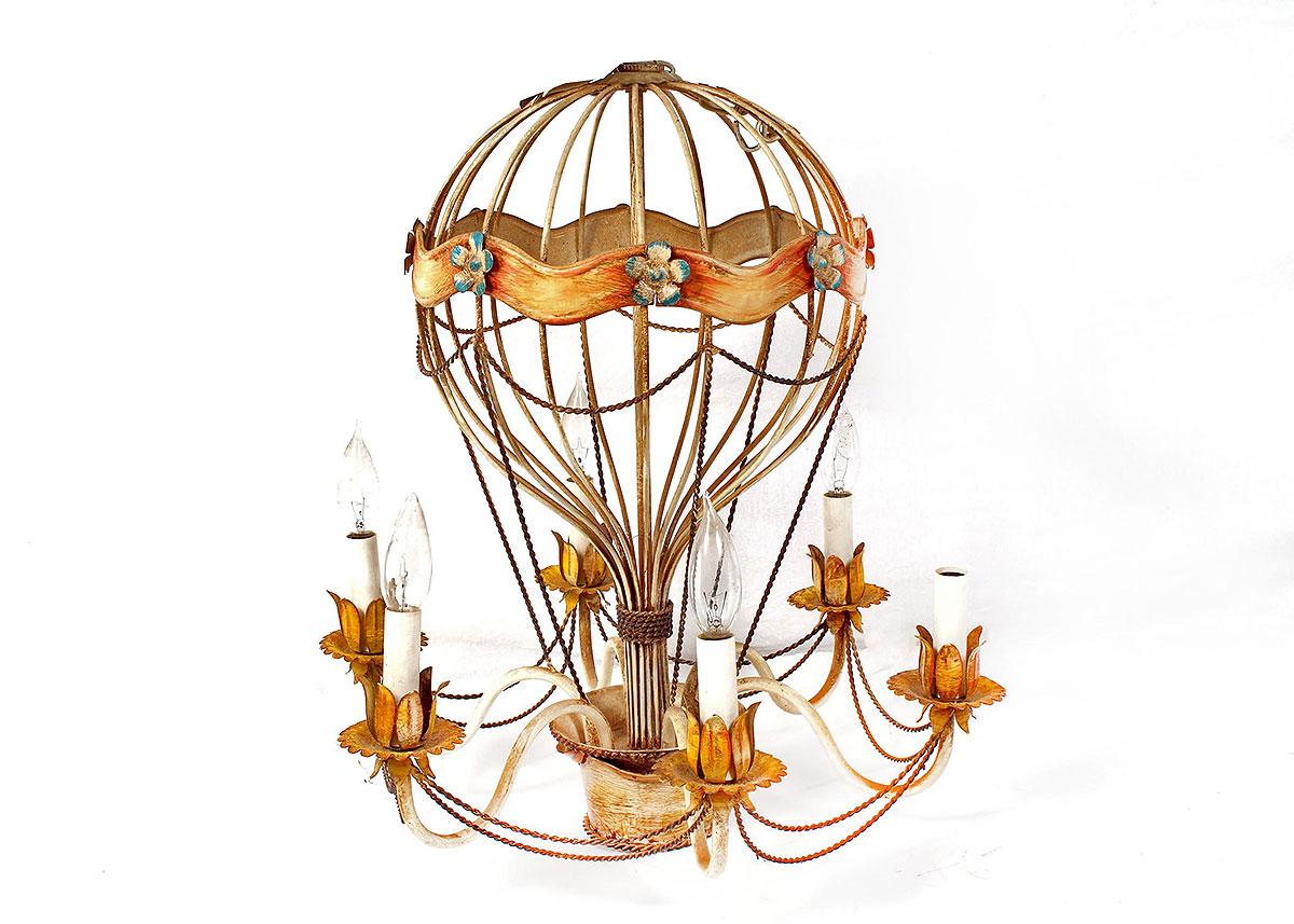 Vintage Balloon Chandelier : EBTH