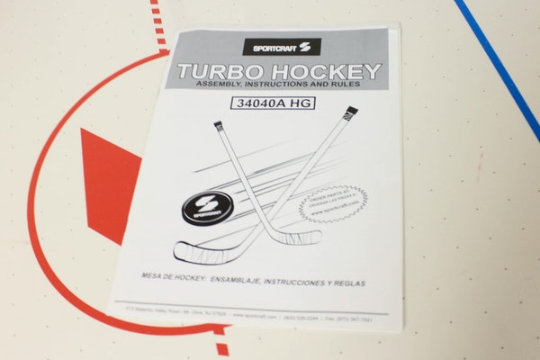 rhino air hockey table manual