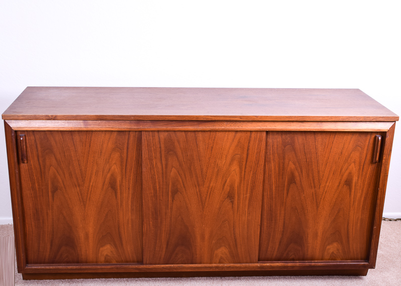 Vintage Barzilay Mid Century Modern Stereo Console : EBTH