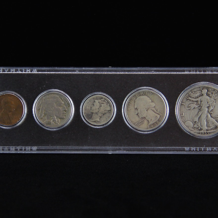1935 U S  Coin Collection