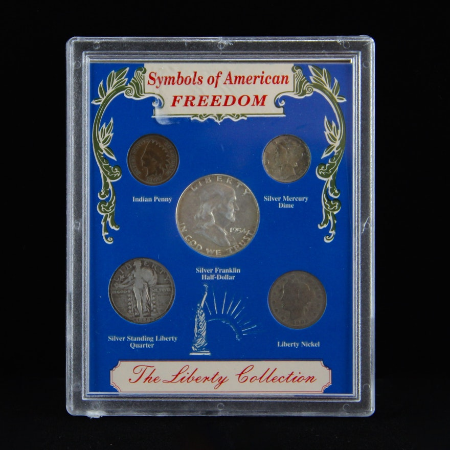Symbols Of American Freedom The Liberty Collection Coins Ebth