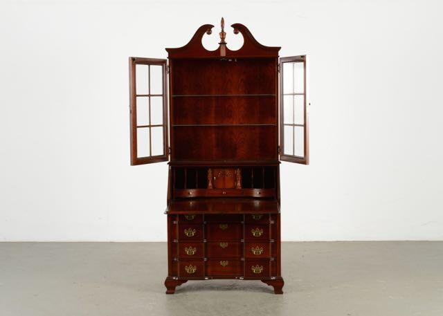 Cherry Secretary Desk By Jasper Cabinet Company