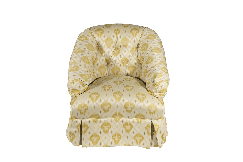 Beachley Ikat Patterned Club Chair ...