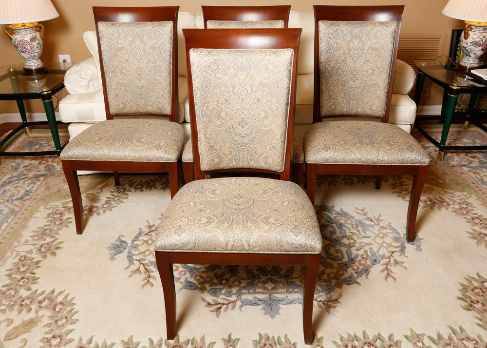 Set of Four Upholstered Ethan Allen Dining Chairs EBTH : 15113015WDC0330440 editjpgixlibrb 11 from www.ebth.com size 880 x 906 jpeg 197kB