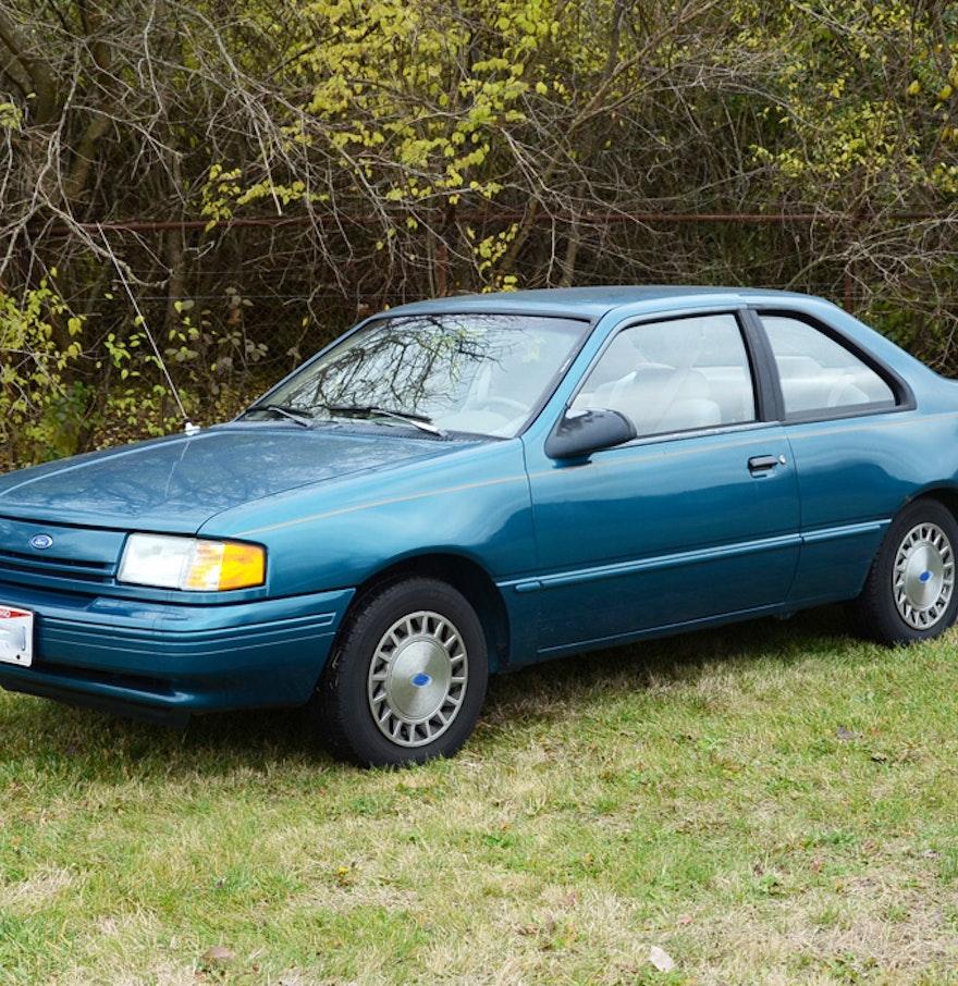 Aqua 1993 ford tempo gl coupe
