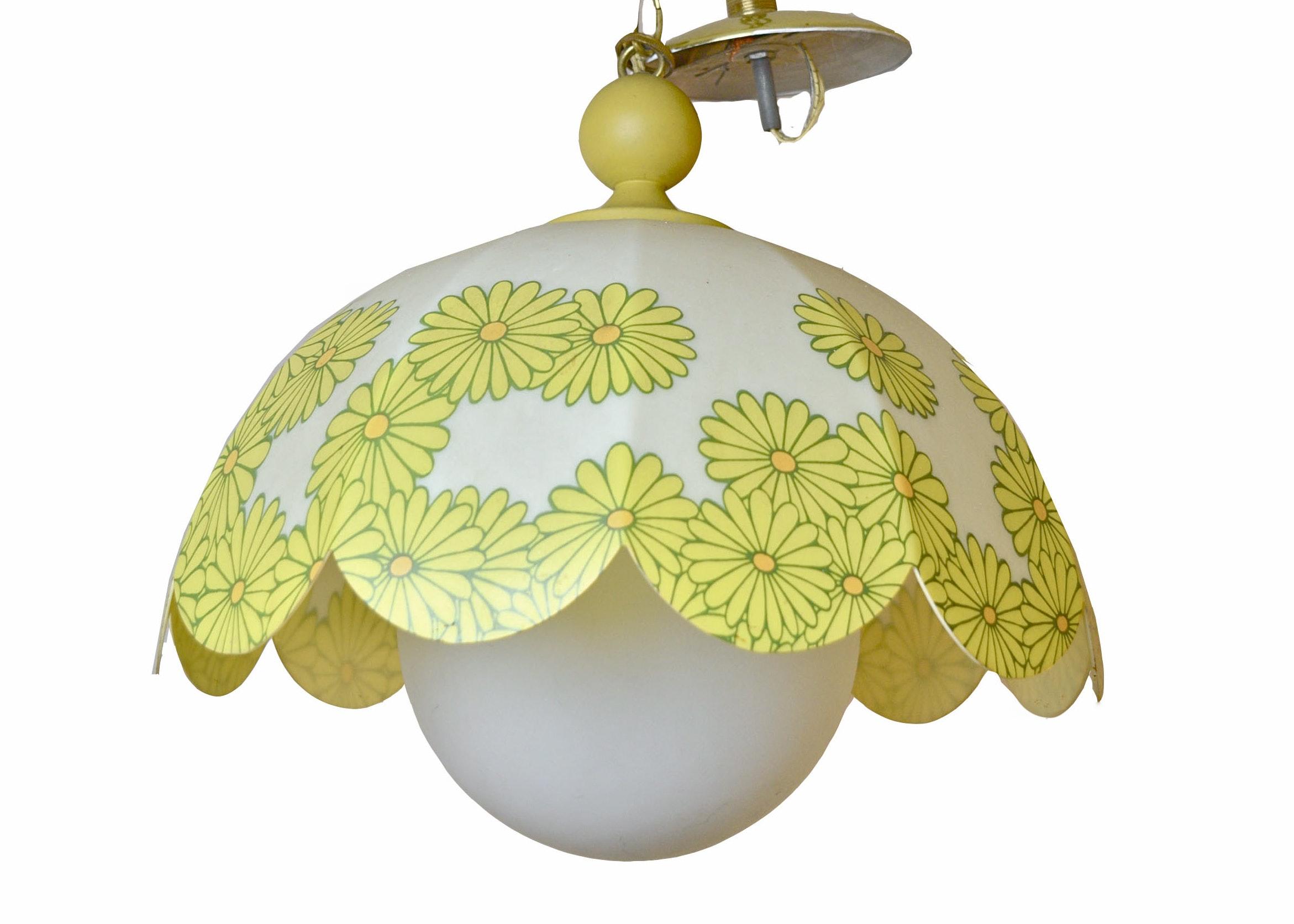 Vintage Daisy Pendant Light ...  sc 1 st  Everything But The House & Vintage Daisy Pendant Light : EBTH azcodes.com
