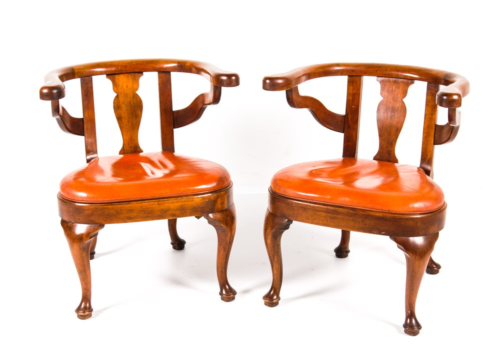pair of vintage barnard and simonds chairs - Retro Chairs