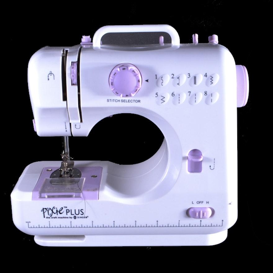 Singer Pixie Plus Mini Sewing Machine EBTH Classy Pixie Plus Sewing Machine