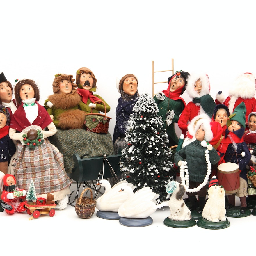 byers choice christmas carolers collection