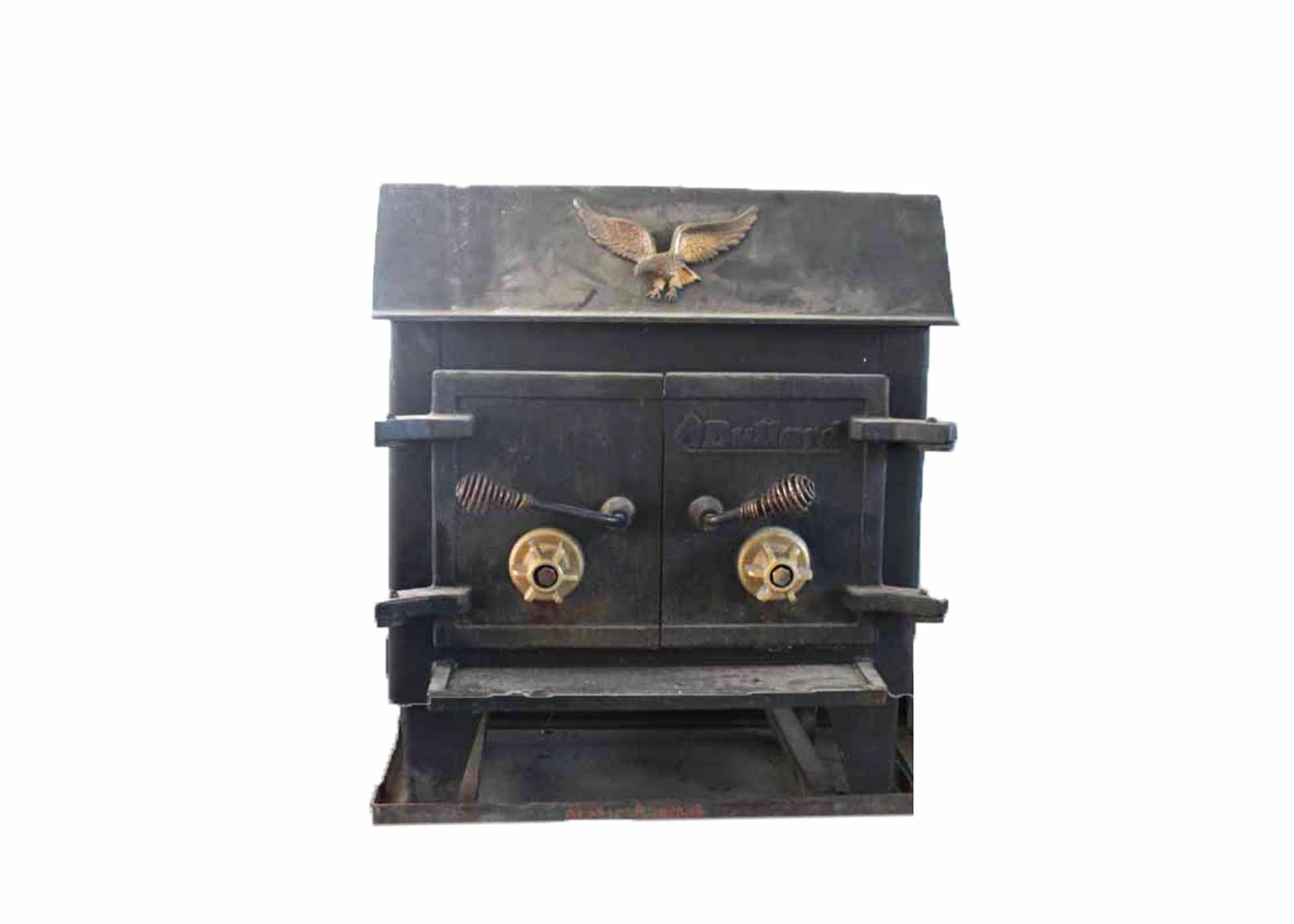 vintage bullard wood burning stove ebth