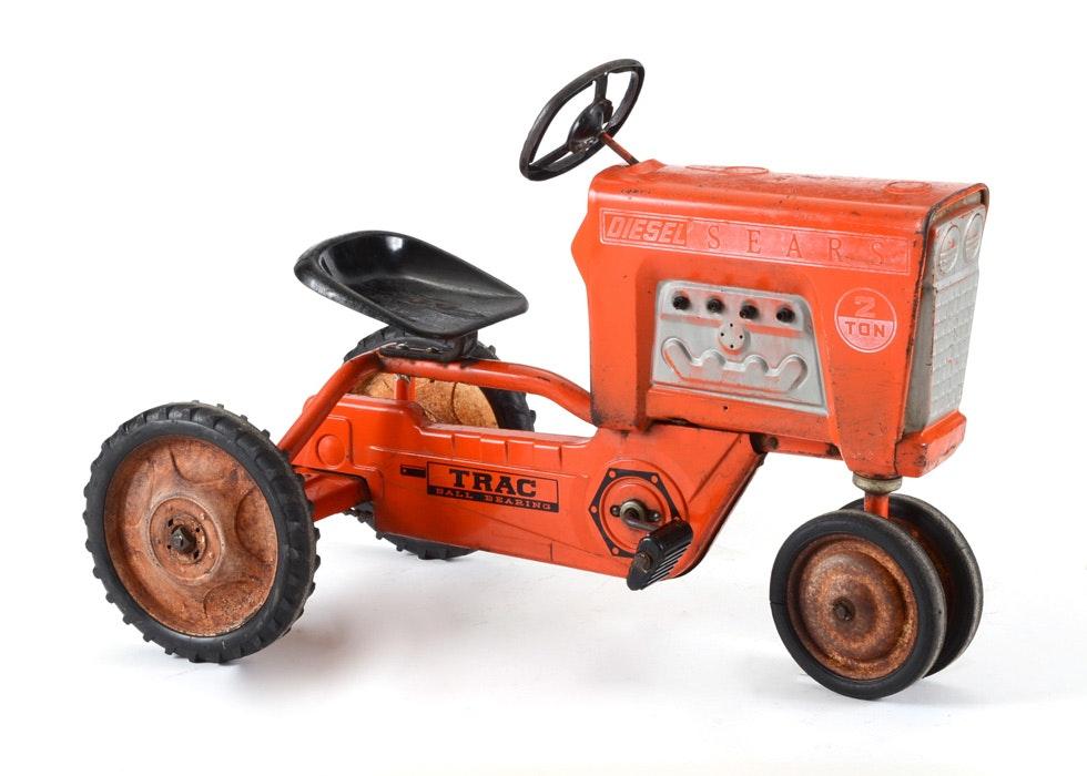 Sears Car: Vintage Sears Tractor Toy Pedal Car : EBTH