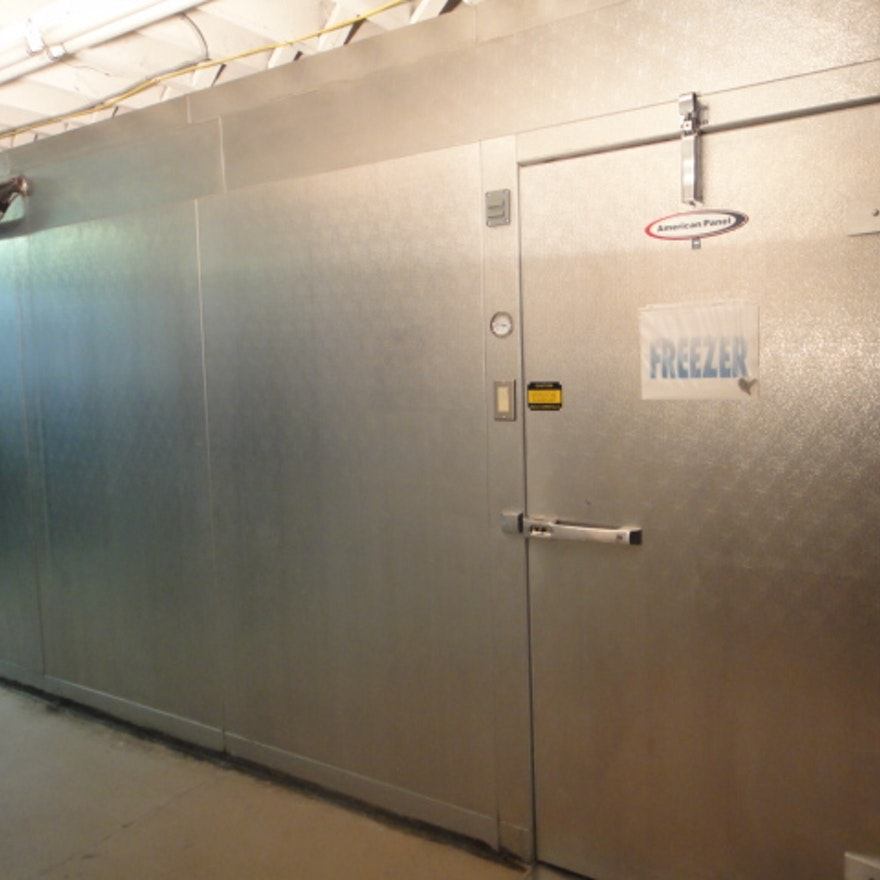American Panel Walk In Freezer Ebth
