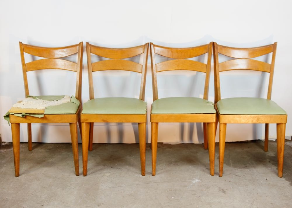 Delicieux Mid Century Modern Haywood Wakefield Dining Chairs