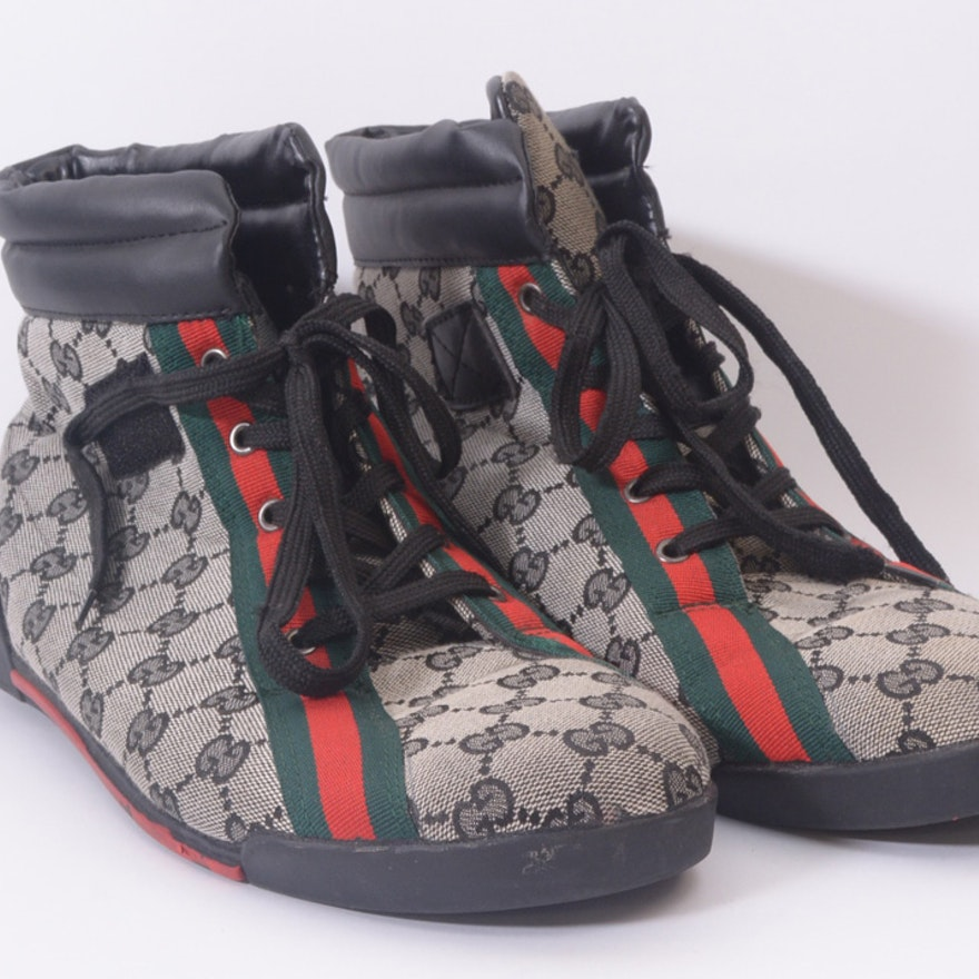 4aa16e401 Men's Gucci High Top Shoes | EBTH
