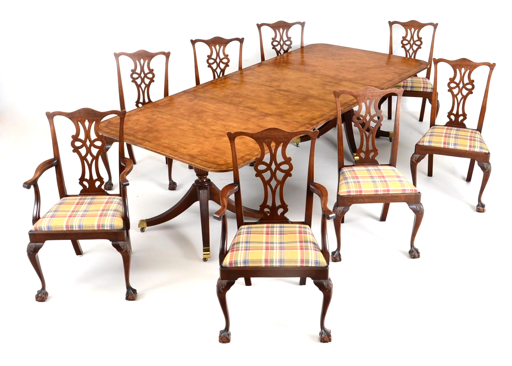 Baker Dining Room Table with Eight Chairs EBTH