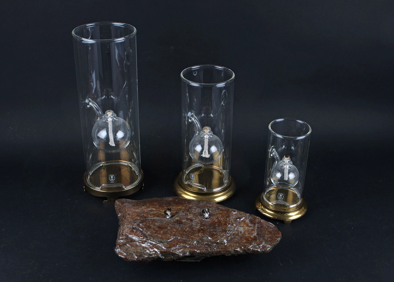 Wolfard Glassblowing Company Classic Oil Lamps ...