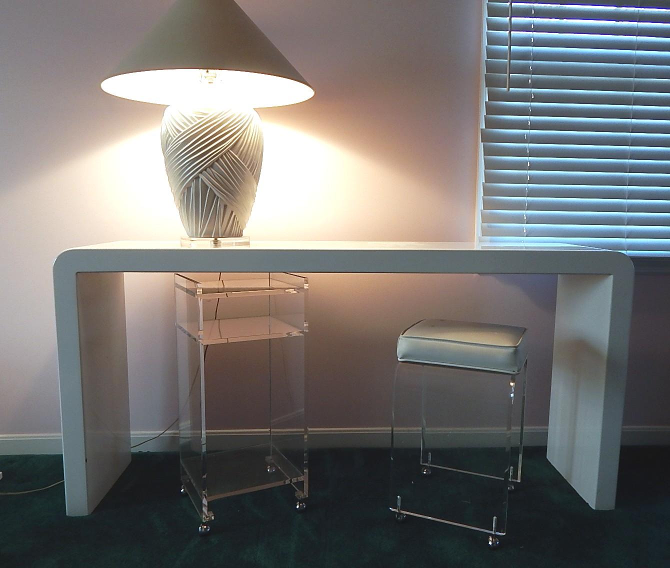 Contemporary White Sofa Tables