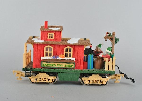 Animated Christmas Train Set : EBTH