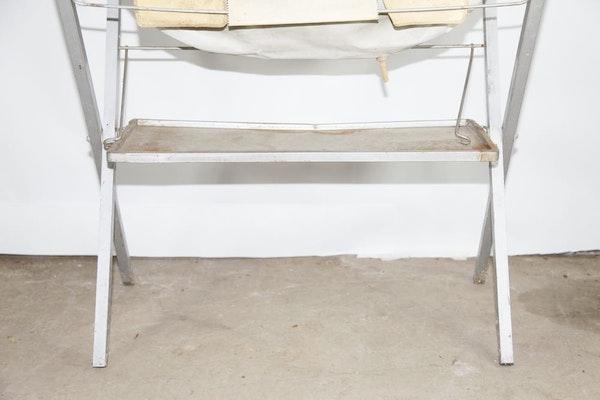 Vintage Bathinette Folding Bath Station Ebth