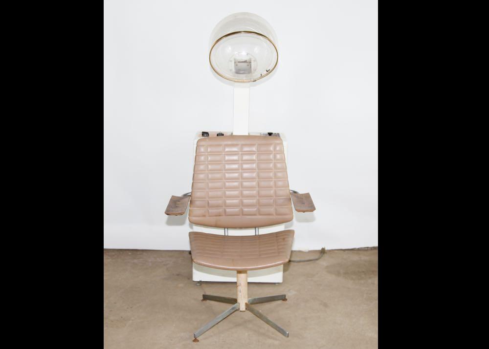 Vintage Hair Dryer with Chair ...  sc 1 st  EBTH.com & Vintage Hair Dryer with Chair : EBTH