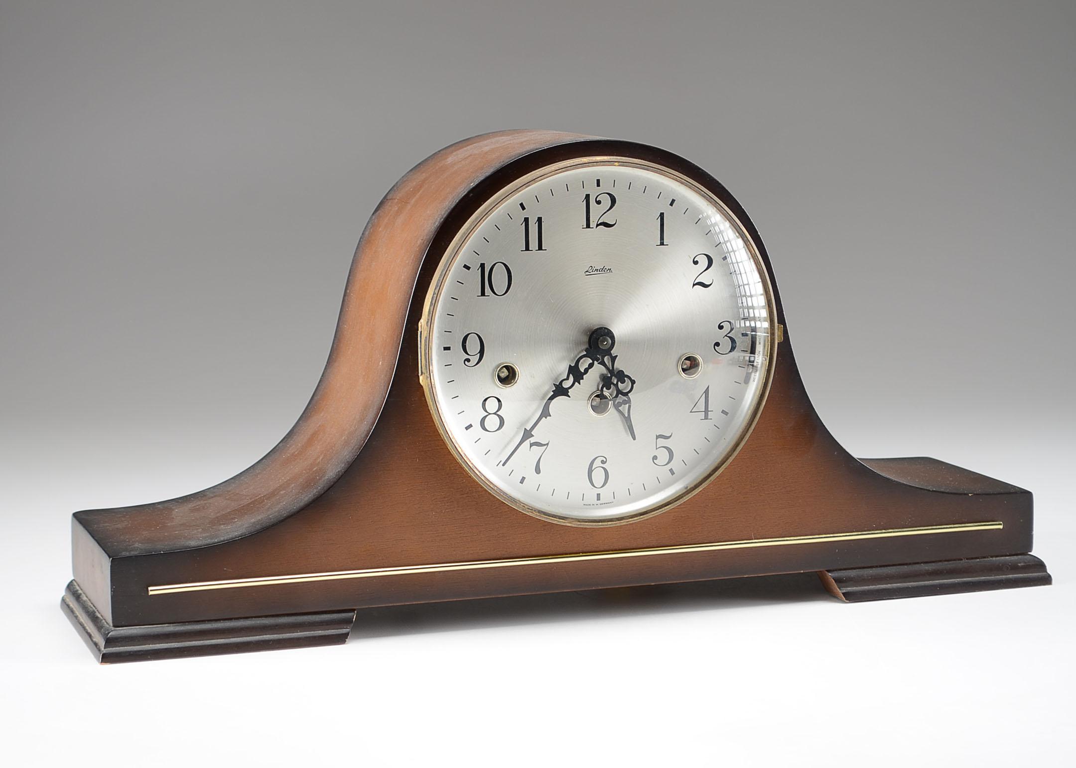 Linden u0026quot;Tambouru0026quot; Mantel Clock : EBTH