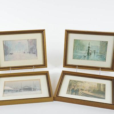 Vintage Art Prints | Art Print Auctions | Lithographs for Sale in ...