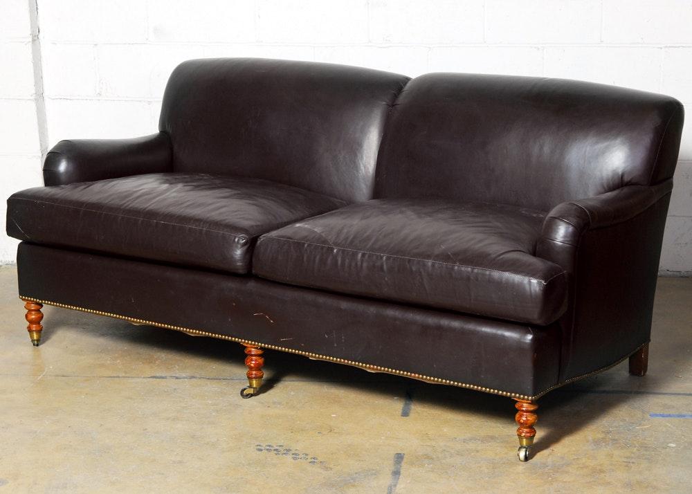 Leather Tight Back Lawson Sofa ...