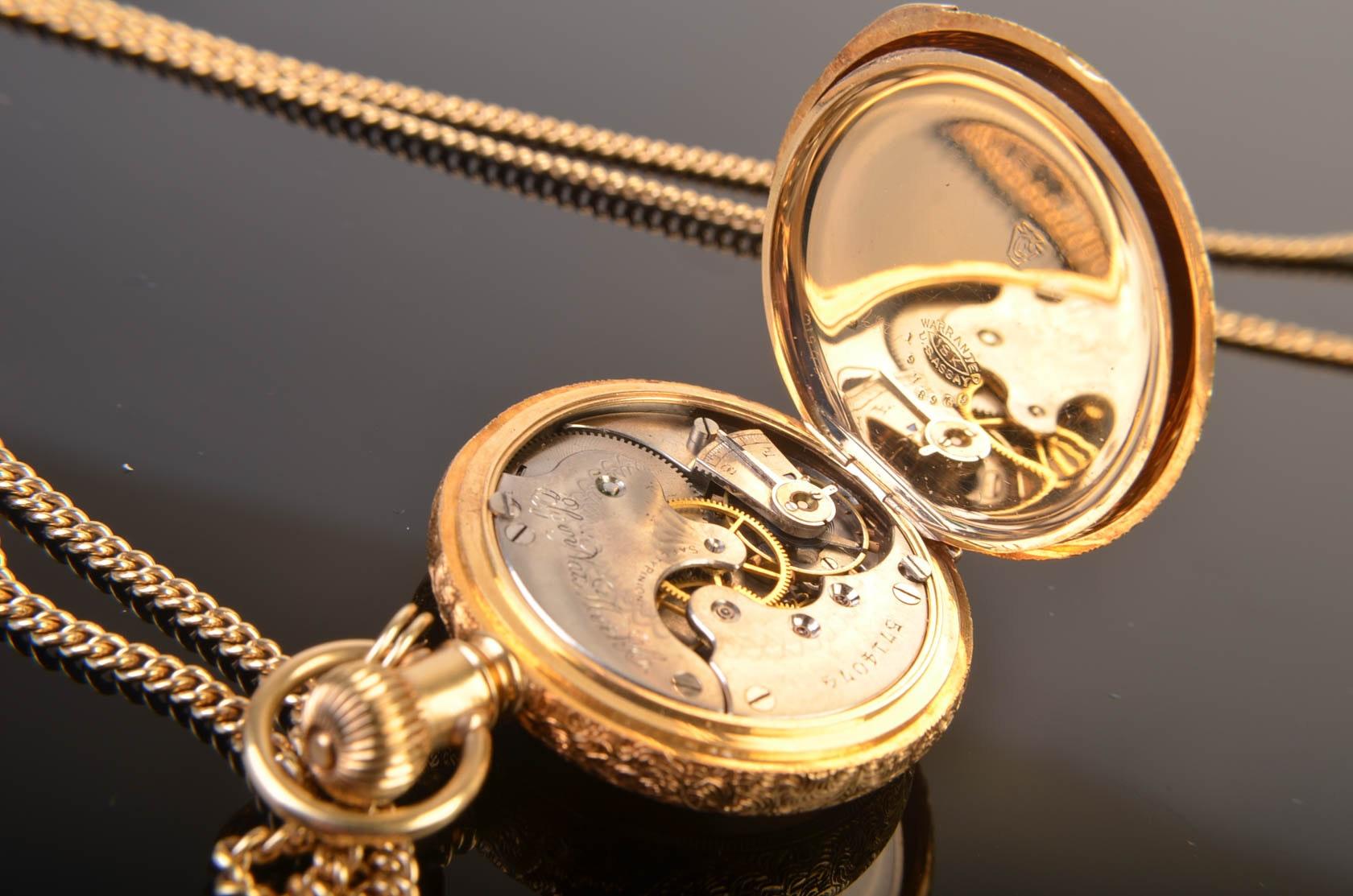 Elgin pocket watch dating by serial number