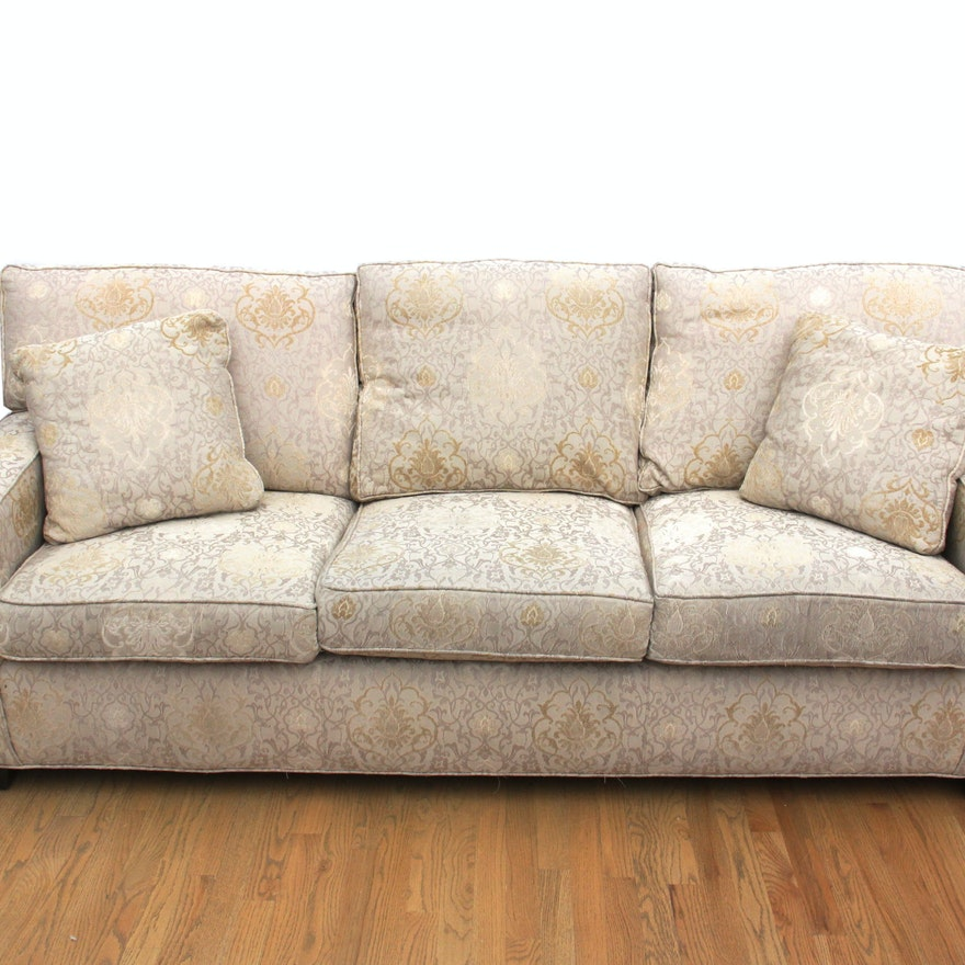 Superb Arhaus Furniture Three Seat Sofa Customarchery Wood Chair Design Ideas Customarcherynet