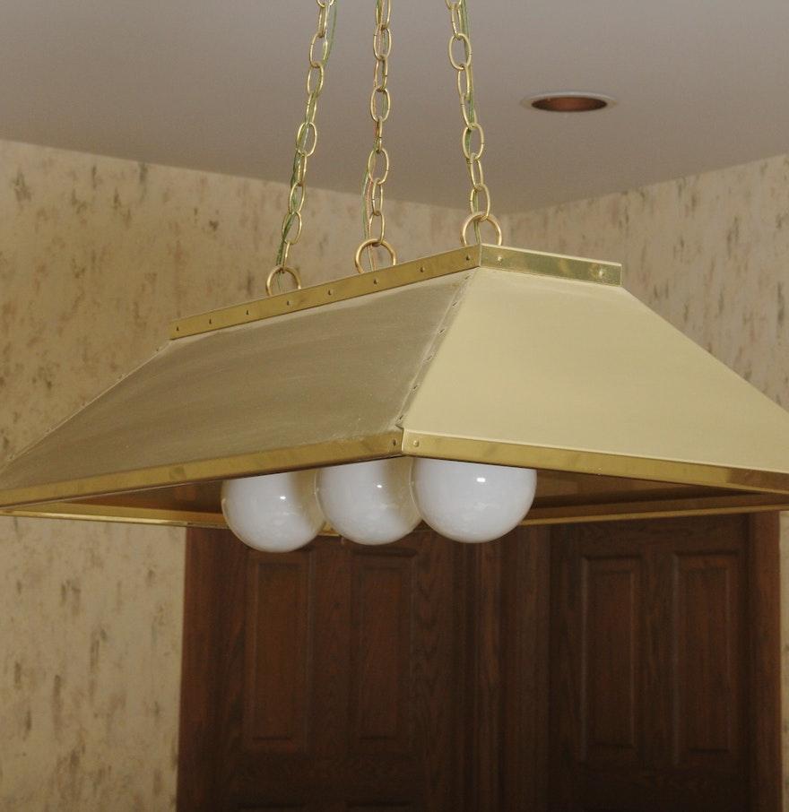 Pool Table Overhead Light : EBTH