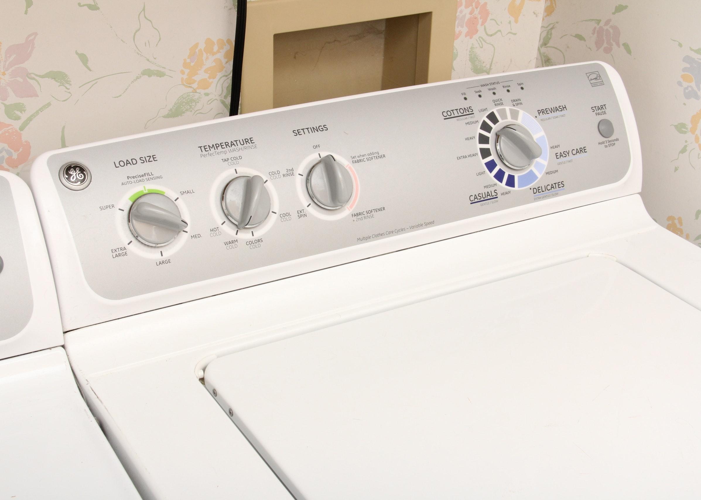 ge top load washing machine