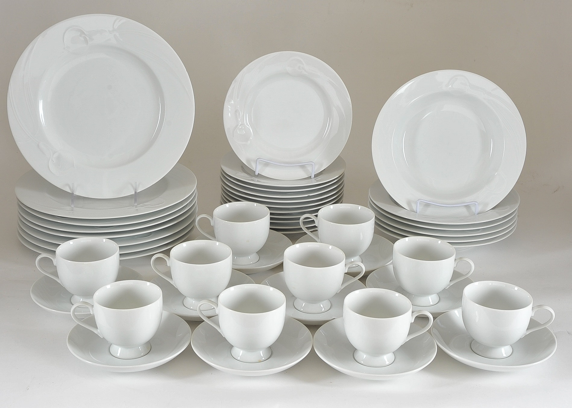 Mikasa Classic Flair Fine China Set ... & Mikasa Classic Flair Fine China Set : EBTH