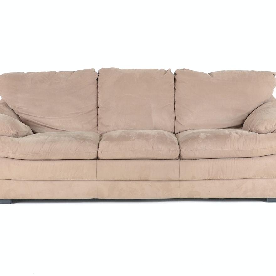 Natuzzi Industries Ultra Suede Sofa